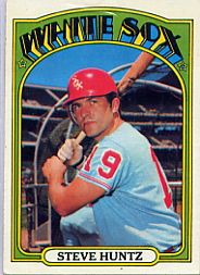 1972 Topps Baseball Cards      073      Steve Huntz